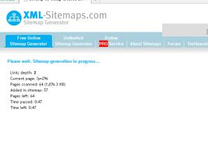 在线生成sitemap等待时间