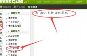 网站安全-文件管理失败